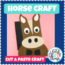 Load image into Gallery viewer, Horse Animal Craft