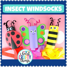 Load image into Gallery viewer, Insect Windsock Crafts