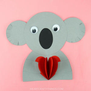 Animal Valentine's Day Crafts