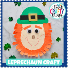 Load image into Gallery viewer, St. Patrick's Day Leprechaun Craft