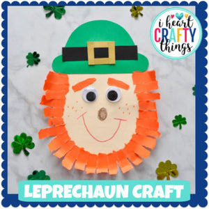 St. Patrick's Day Leprechaun Craft