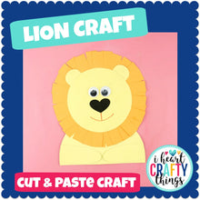 Load image into Gallery viewer, Lion Animal Craft