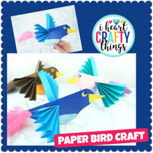 Load image into Gallery viewer, Paper Bird Craft Activity