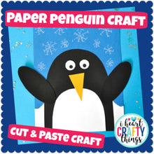 Load image into Gallery viewer, Simple Penguin Craft