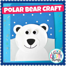 Load image into Gallery viewer, Polar Bear Craft Activity