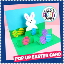 Load image into Gallery viewer, How to make a pop up Easter Card