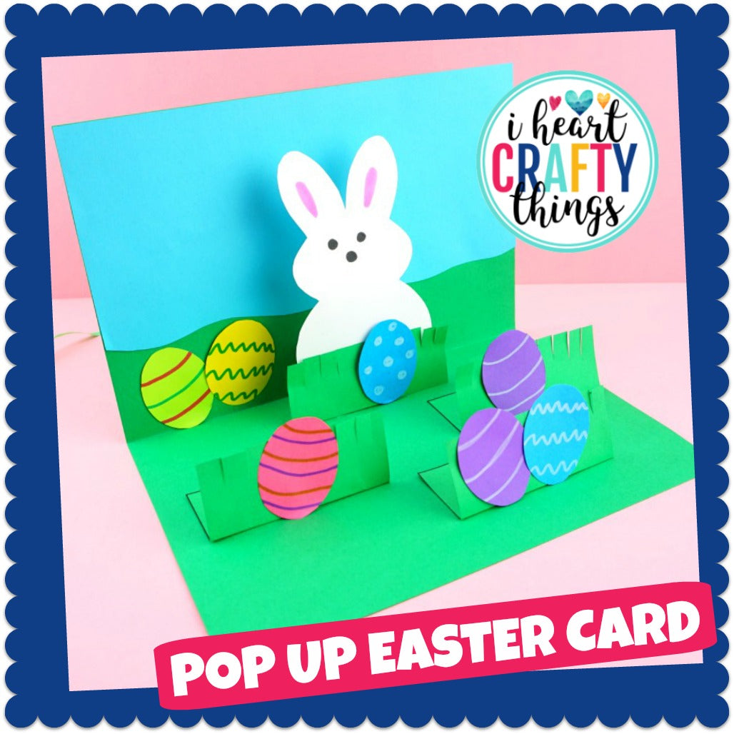 How to make a pop up Easter Card
