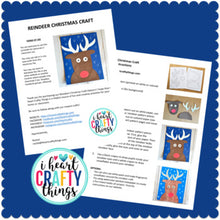 Load image into Gallery viewer, Christmas Reindeer Craft