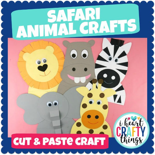 Safari Animal Crafts Bundle Pack