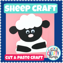 Load image into Gallery viewer, Sheep Animal Craft