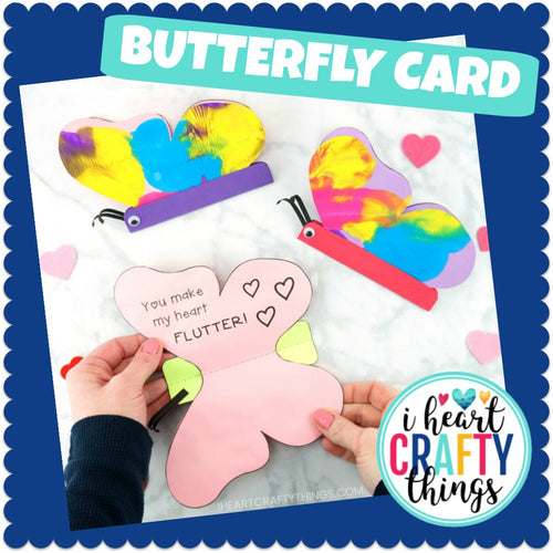 Simple Butterfly Card for Kids