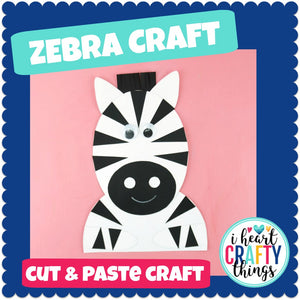 Zebra Animal Craft