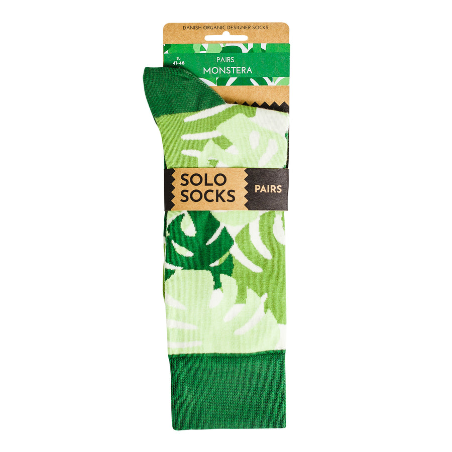 Monstera Socks (1 Pair)