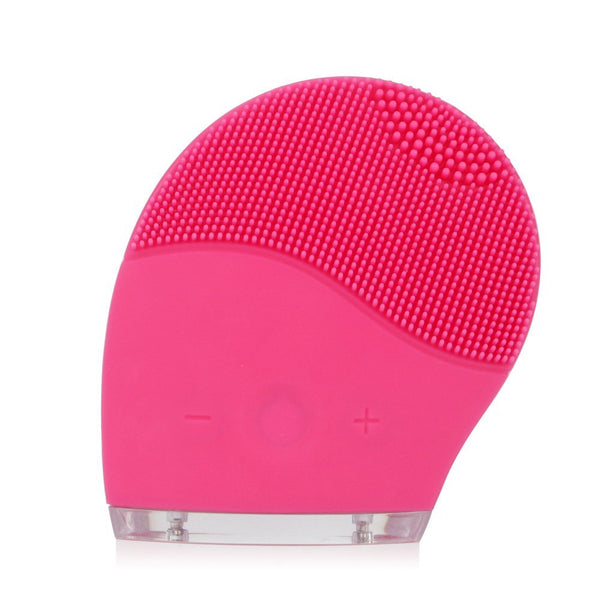 Silicon Vibrating Waterproof Facial Cleansing Brush