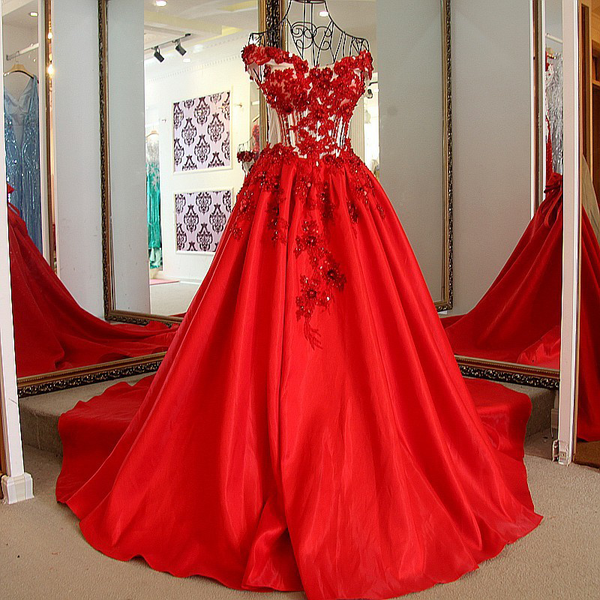 Red Off Shoulder Prom Party Sex Long Gown Evening Dress
