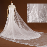 Lace Beads Pearls Sewing Bodice Drop Low Cut Back Wedding Dress