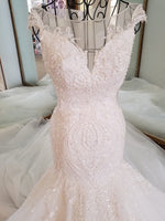 Formal Dress  Sweetheart Strapless Trail Wedding Dresses