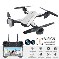 Foldable WIFI RC Drone with Dual 2.0MP HD Camera