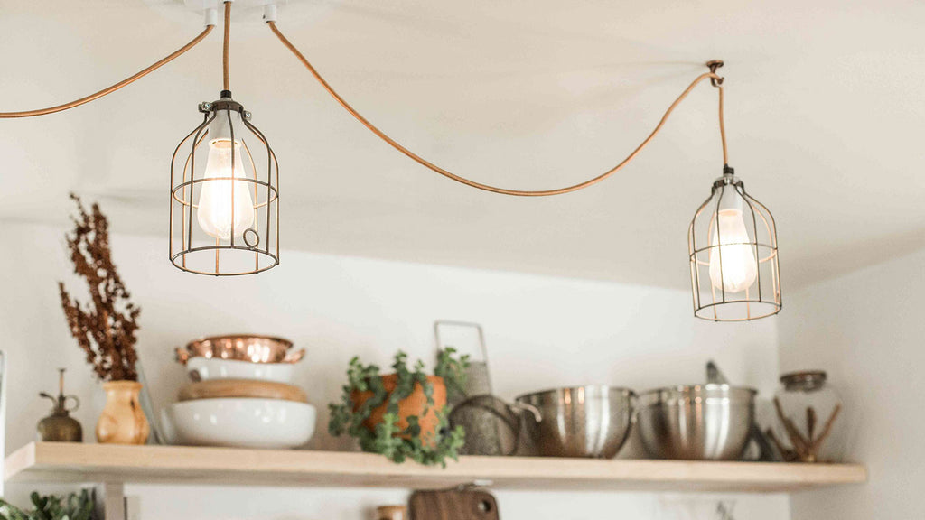 Image of: 6 Kitchen Lighting Ideas For Small Kitchens Color Cord Company
