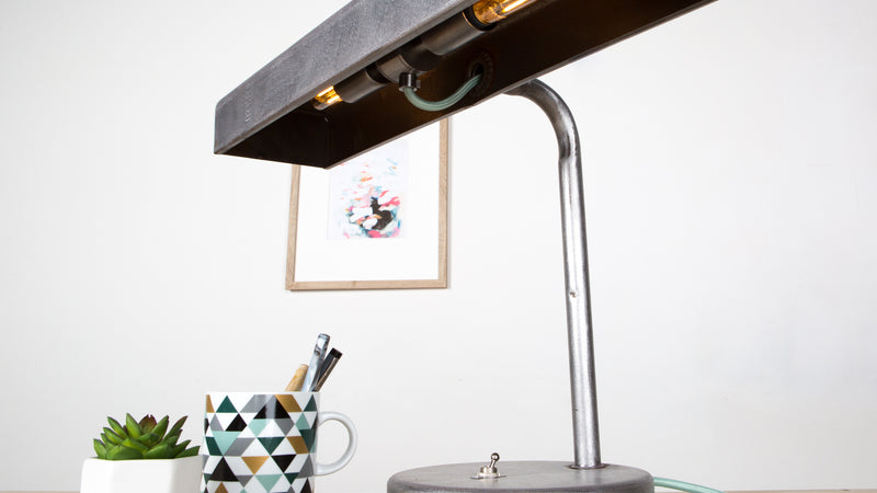 Salvage Series Ep. 5 - Vintage Desk Lamp 2.0