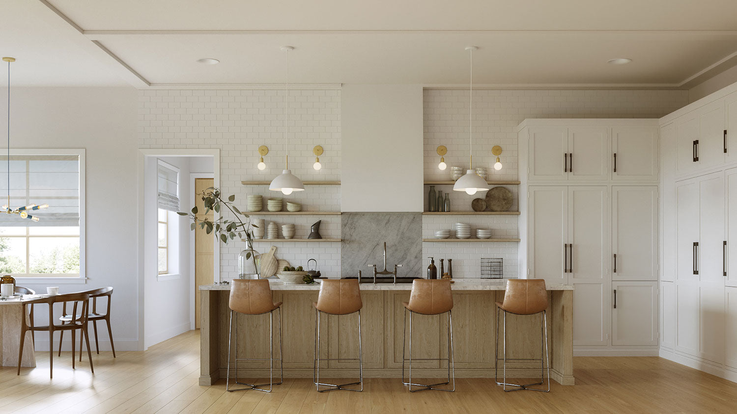 Kitchen Lighting For Open Spaces