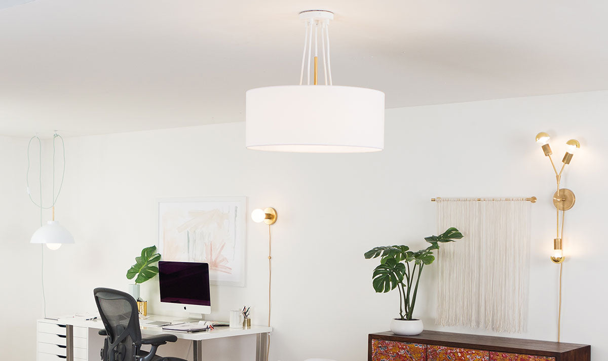 Office lighting for the home