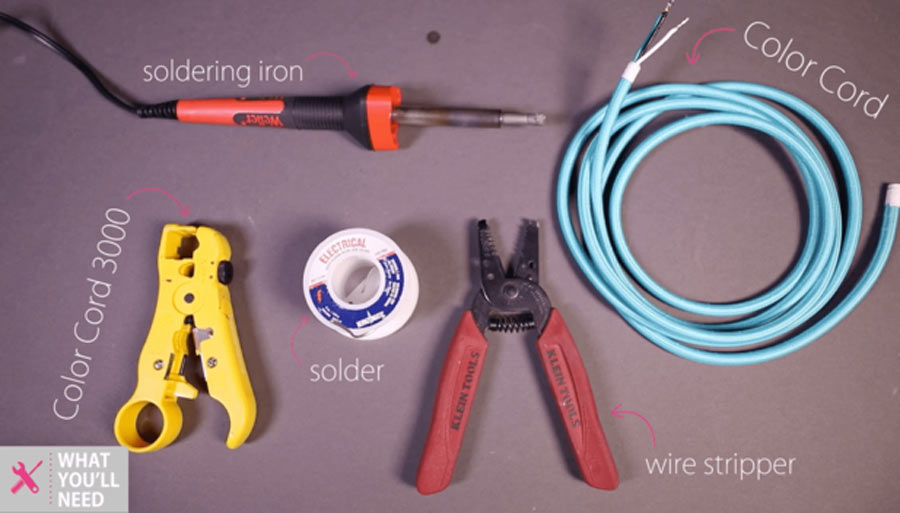 tools needed for tinning wire