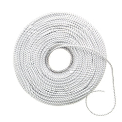 DIY Fabric Wire by the Foot - White & Gray Dot