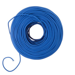 DIY Fabric Wire by the Foot - Cobalt Blue