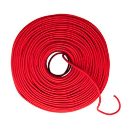 DIY Fabric Wire by the Foot - Crimson (Cotton Blend)