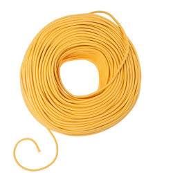 DIY Fabric Wire by the Foot - Sunshine Yellow