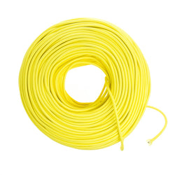 DIY Fabric Wire by the Foot - Citrus Yellow