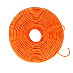 DIY Fabric Wire by the Foot - Neon Orange