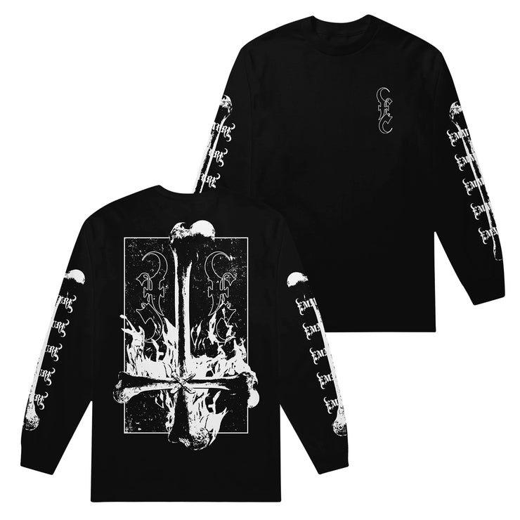 Bones Black Long Sleeve