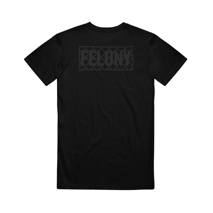 Felony Black High Density Print Black
