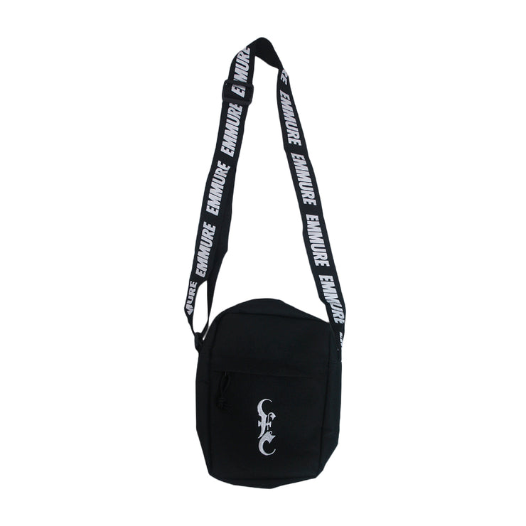 Logo Custom Black Side Bag