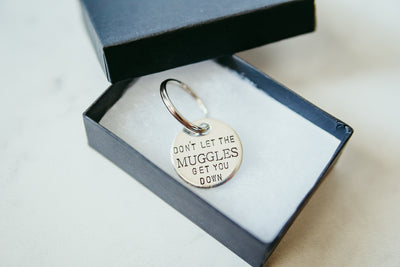 Muggles Keychain | Harry Potter Keychain, in gift box