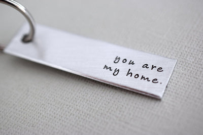 You are my home Keychain