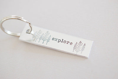 Explore Keychain, top view