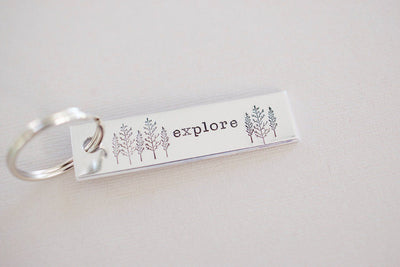 Explore Keychain, left view
