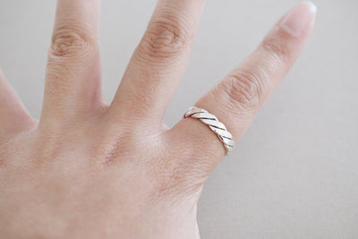 Twisted Sterling Ring