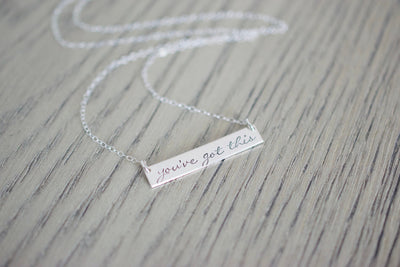 You've Got This Necklace, left view