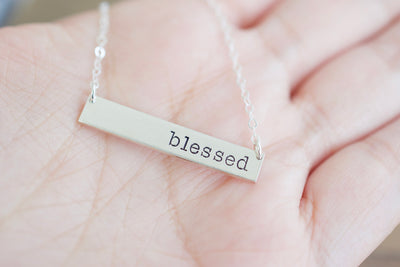 Blessed Necklace, in hand