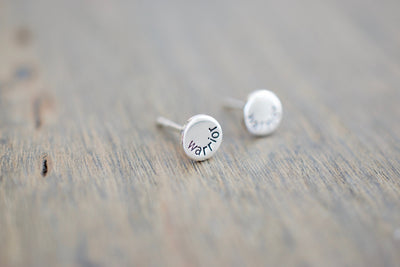 Warrior Stud Earrings