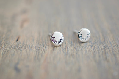Fearless Stud Earrings