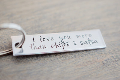 I love you more than Keychain