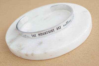 The Mountains are Calling Bracelet