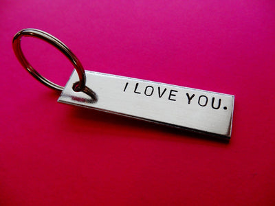 I Love You Keychain