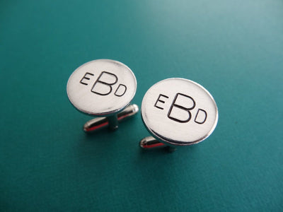Personalized Monogram Cufflinks