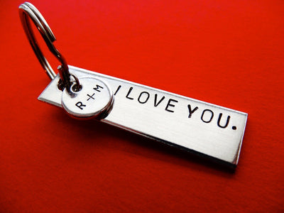 Personalized Keychain with Tag